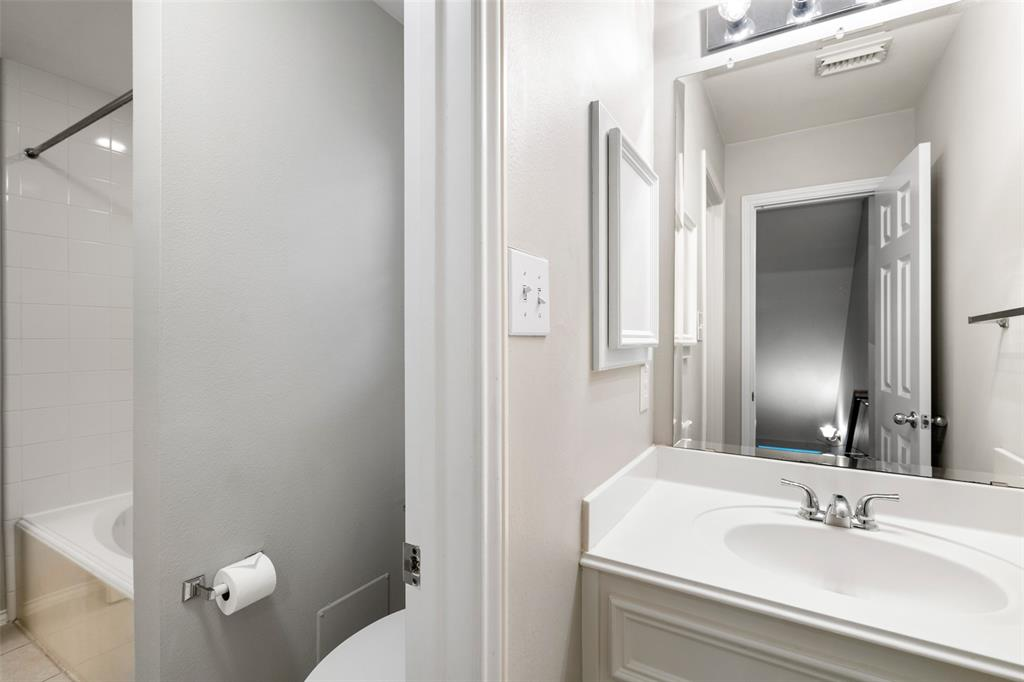 Dedicated utility room located on the same floor as bedrooms. The washer/dryer are included.