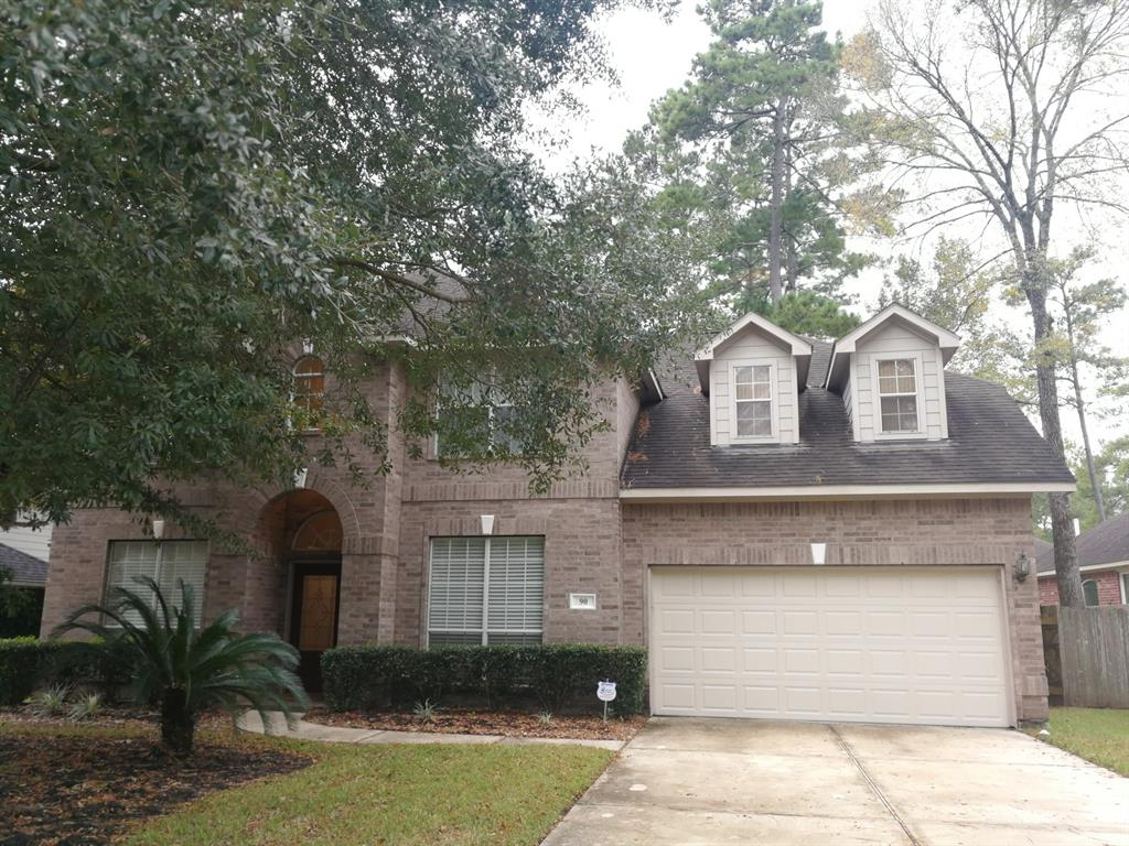 This spacious home is convenient to I-45 and all the shopping The Woodlands offers. Highly sought-after floor plan. It has 4 SPACIOUS bedrooms with Master Down, 3.5 Baths. Butler's pantry off formal dining, large island kitchen. Master suite includes sitting area, built-ins & large closet; decorator cut-outs. Oversize game room w/dormer nickes. Upstairs computer nook. Vaulted ceiling in living room w/fireplace. Walk trail and parks nearby.