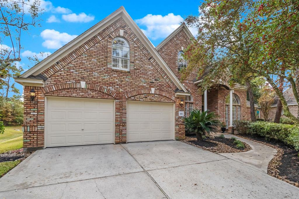 Custom home in Herald Oaks of Panther Creek ready for new owners. Amazing opportunity to put your personal touches on a home in an ideal location! Entire interior of home painted Nov 2019. All mechanics inspected in Nov 2019. 5 year warranty on roof maintenance pkg! Stage is set for you to make this house your home! 1.5 story home has 3 bedrooms down w/a large game room upstairs w/full bath.  Upstairs space could also be a guest suite.  Formal study off entry is perfect for getting your work done in peace. Kitchen opens to family living area to keep everyone connected during meal time or gatherings.  Newer stainless steel appliances include dishwasher, double ovens & microwave! The backyard is outstanding; large pool w/recent pebble sheen coating & enough side yard for a trampoline or play structure! Generous patio around pool is the perfect set up for seating at parties. Walking distance to North Shore Park, Hughes Landing, Market Street & so much more!! Call for your showing today!