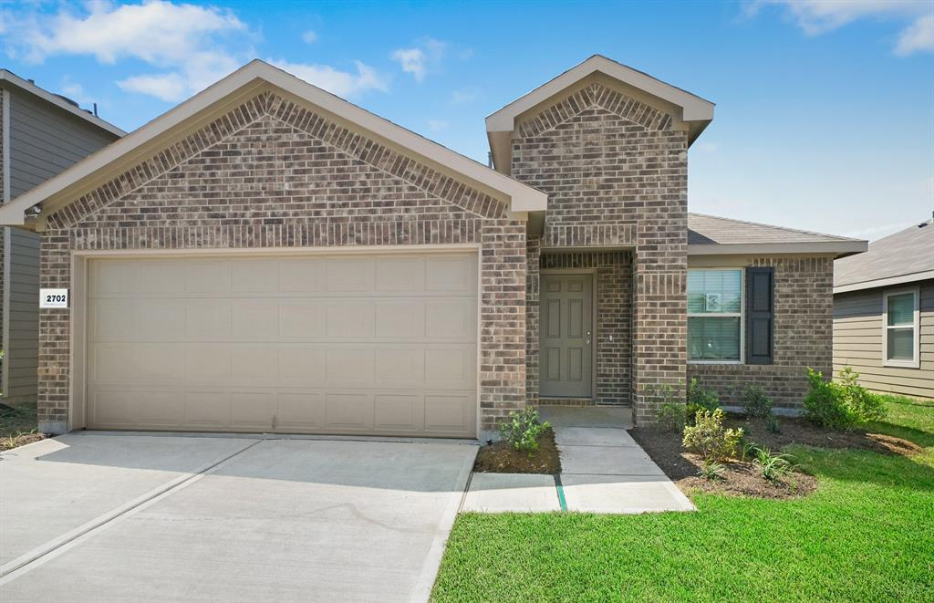 "Families will enjoy this 55-acre community conveniently situated between four major highways with walking accessibility to retail and near Missouri City Community Park. This gorgeous 1-story home is a must see! Right when you walk in, you will notice the formal study which is perfect for getting daily paperwork completed. Each of the main living areas connect seamlessly to making living functional and entertaining easy. The tray ceiling in the gathering room add extra height and drama to the home. The open island kitchen is outfitted with state of the art stainless steel appliances, upgraded silestone countertops and upgraded 42"" upper cabinetry. You will love coming home everyday to your owner's suite. It is the perfect retreat after a long day. You can also unwind in your owner's bath that has double vanity sinks and a walk-in shower. Relax in your backyard that comes with full yard irrigation. This home will be available for February 2020 Move-In!"