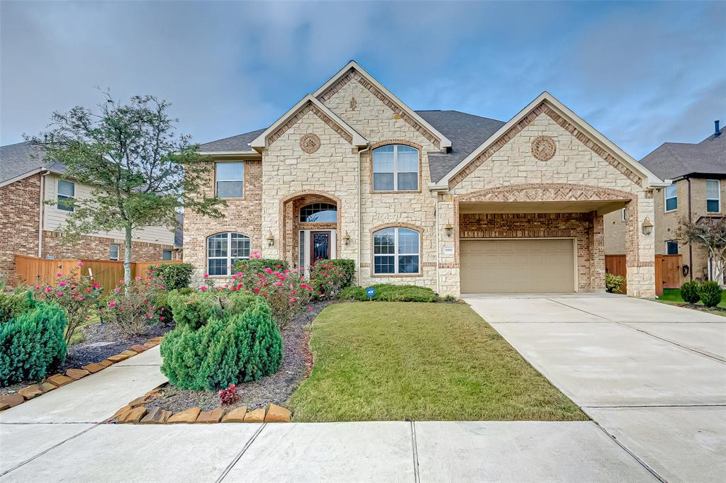 Stunning property for sale as is. This gorgeous home boasts 5 bedrooms, a game room, a media room, a study/library, a large covered patio, and a SPACIOUS backyard. Stainless steel appliances are INCLUDED. The master bedroom is located on the first floor. Schedule a showing today!