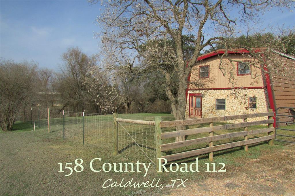 Lots of potential in this nearly 4 acre homesite. * Beautiful land, well-manicured, fenced and cross fenced. * Large L shaped pond * Two gated entrances - one off HWY 21 to old homesite (shell of a building) and the other CR 112 to current/main home. * Site is on public water service and septic. The property extends north across the pond to the grassy area and perimeter fence near neighboring home. East perimeter fence is believed to be set about 10ft in from actual property line due to steep pond/overflow bank. Prior survey available. Main Home - A-Frame style construction on needs work - both cosmetic and structural. * Offer lots of room to spread out and make it your own after rehab and repair. * Its a 4/2 with master downstairs. * Enormous kitchen and open living/dining concept. * Unique features. * Walkout second-level patio could be restored and overlooks attractive land. Covered back rock wall patio. We invite to to come and see all this property has to offer.