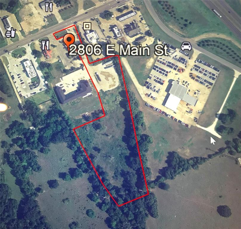 Madisonville - 5.984 AC available located on Hwy 21, approximately 2/10 mile from the intersection of I-45 and Hwy 21.  Land is located along a corridor of restaurants, hotels and local businesses. Land is zoned general, commercial business and has great traffic counts and visibility.  All utilities available.  Bring your ideas!