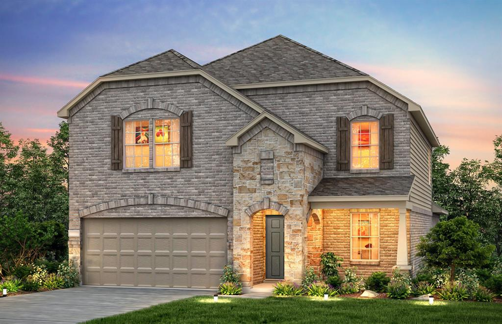 "Families will enjoy this 55-acre community conveniently situated between four major highways with walking accessibility to retail and near Missouri City Community Park. This home will be sure to capture your attention with its open concept layout. It was designed to make entertaining easy and living functional. As soon as you enter you will notice the 9 ft. ceilings and formal study giving you space for homework or daily paperwork. As you travel farther into the home you will notice the spacious kitchen with incredible features like 42"" upper cabinets, stainless steel appliances and upgraded countertops. The kitchen connects directly to the dining area and open gathering room. Homeowners will love coming home to relax in their walk-in shower. Love the outdoors? Take dinner outside and enjoy cool evenings out on the covered back patio in the spacious backyard. This home will be available for March 2020 Move-In!"