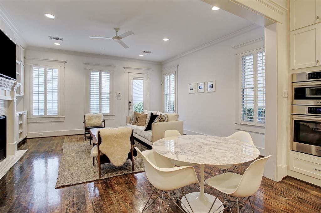 The family room of course leads to the private back yard, garage and one bedroom garage apartment.