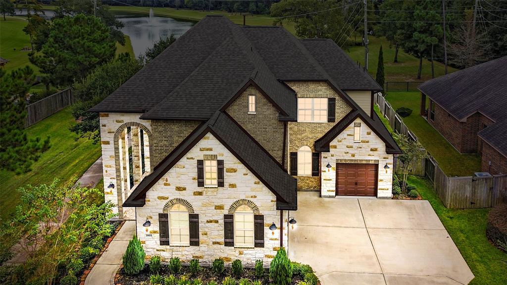 2803 King Point View Lane, Spring, TX 77388