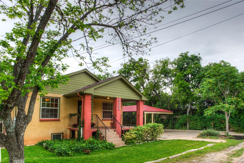 Fantastic Development Opportunity just off Hwy 71, the epicenter of growth!  Just Rezoned SF6!  The 4-bd, 2 ba 2 story home on 1.029 ac w/lush gardens, workshop.  Hardwood floors on the main street level. Multilevel decks, arbors, solar panels, sprinkler system.  Level terrain at front w/gradual slopes toward back. Small creek at back for pond or detention area.  Great opportunities for a developer that wants to add or change the current use in Austin's booming economy!
