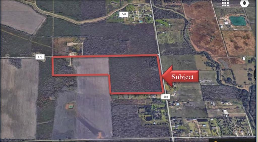 60 acre tract in Iowa Colony very convenient to Hwy 6 and 288 Frwy.  Iowa Colony is a rapidly growing area.  New High school being built in the area.  Corner location with abundant road frontage.