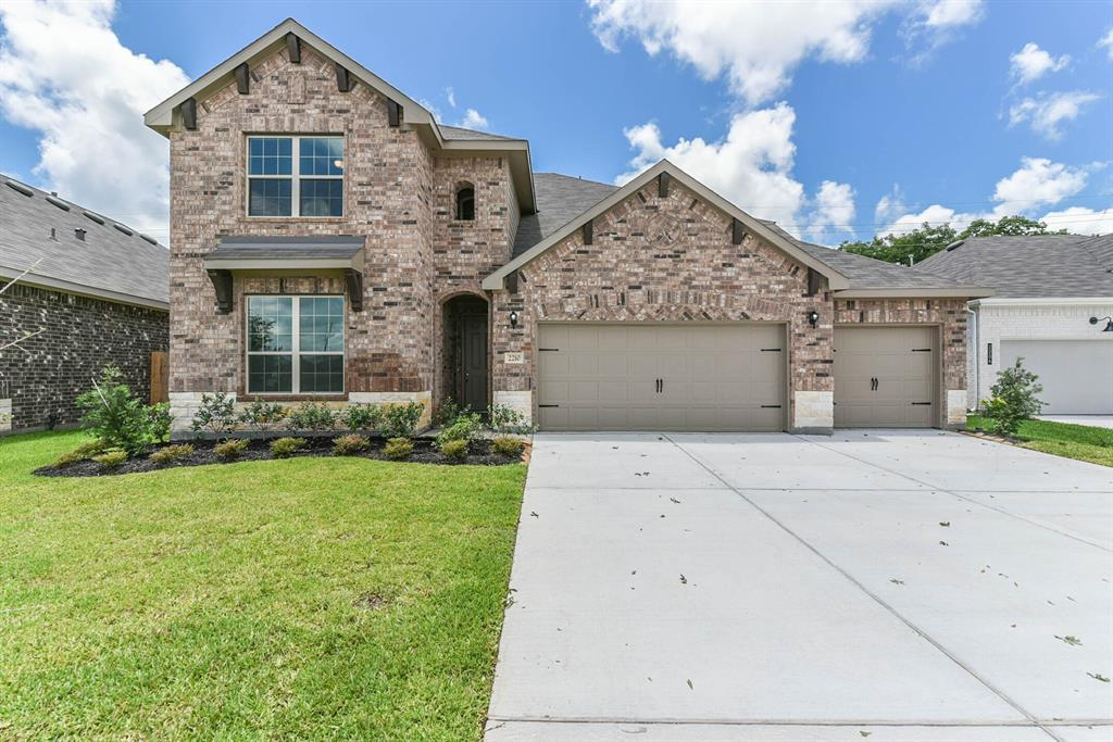 "Proudly introducing HistoryMaker Homes to the Houston area.  With over 70 years of experience building homes in the Dallas/Ft Worth area, this family owned company has provided more Home for Less Money for thousands of families.  Seabourne Landing is conveniently located in Rosenberg just minutes from the Fort Bend County Fair Grounds and the Brazos Town Center and easy access to State Highway 59/69 and the Grand Parkway.  This 4 bedroom, 3-bathroom, 3-car garage Buckeye plan has space for everything and everyone.  You can set up a workshop in the 3-car garage or host movie night in the second floor game room.  Enjoy outdoor dining on the extended covered patio and prepare meals in the chef-inspired kitchen that boasts large island, 42"" cabinetry, stainless-steel Whirlpool appliances and granite counter tops."