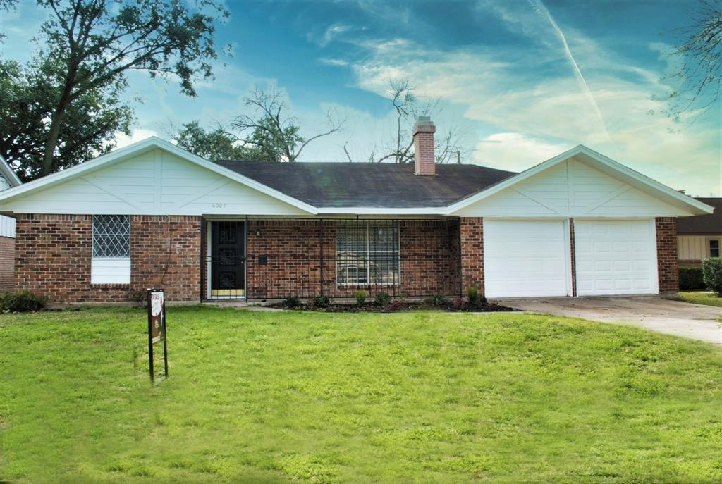 Desirable 1 Story in the established Community of Windsor Village!  Spacious 3 Bedroom & 2 Full Baths at 1783 SqFt. 2 Car Attached Oversize Garage has space for Storage. New Water Heater installed 2018.  Living Room features a Wood-Burning Brick Fireplace and Open Floor Plan to the Kitchen & Dining. Updates throughout.  Complete Surrounding Brick Exterior with a Large Back Yard.  Windsor Village Elementary & Community Center within walking distance.  Great Location with nearby Sam Houston Pkwy, Fort Bend Toll Rd, ALT 90....Easy commute to all parts of Houston, the Medical Center, Reliant Park and numerous Event Centers & Activities that H-Town has to offer.  Move in Ready!