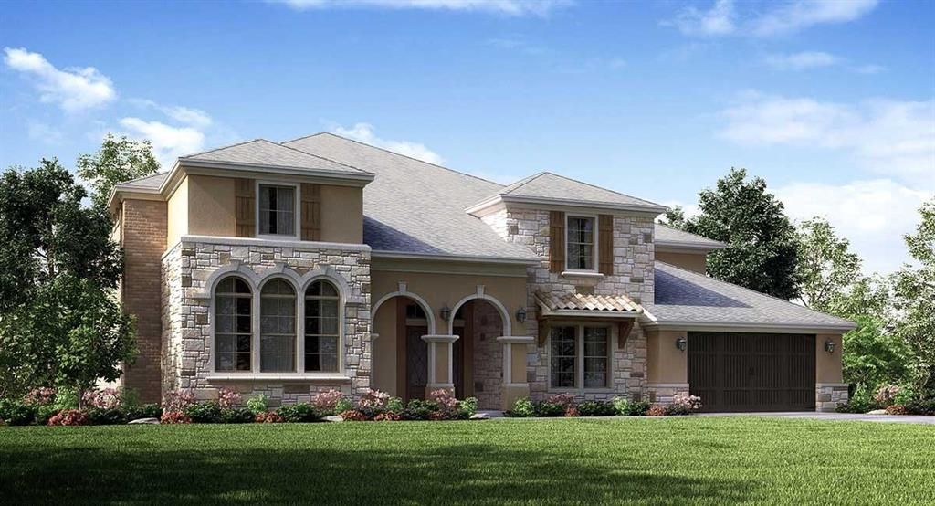 Village Builders Renaissance Series ''Venetian'' Plan with Brick/Stone/Stucco Elevation (A) in beautiful Cross Creek Ranch! Outstanding Architectural Design! 5 Beds (2 Down) /5 Baths + Game & Media Rooms, Kitchenette, Dining Room, Breakfast Room and Raised Study. Grand Foyer and Dramatic Curved Staircase, Stunning and Extensive Hardwood Flooring, Large Family Room with Fireplace. Gourmet Piano Island Kitchen w/ Breakfast Bar, Sparkling Granite Countertops, Grey Glazed White Cabinets & an Amazing Appliance Pkg. Computer Center on 2nd Floor. Luxurious Master Suite features a Sitting Room and a Master Bath with Rotunda Tub Area, Separate Shower, Dual Vanities and Huge Walk-in Closet! Breathtakingly Beautiful Framed Mirrors, Granite Countertops and Tile in all Baths. 35' Long Covered Rear Patio. This fabulous, energy efficient home is a Wi-Fi CERTIFIED smart home featuring automation and voice control with Amazon Alexa.