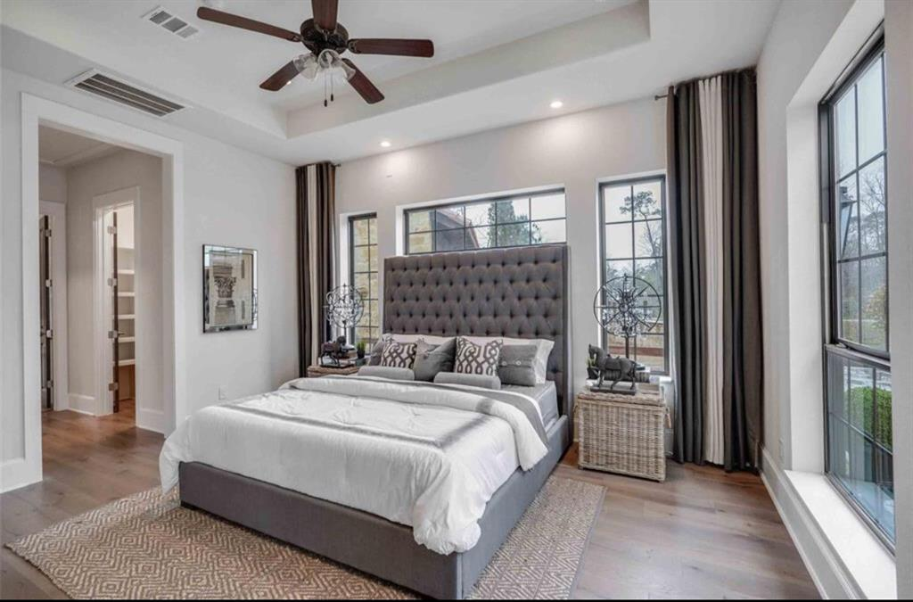 Options for Master Bedroom Built by Royal Texan Homes