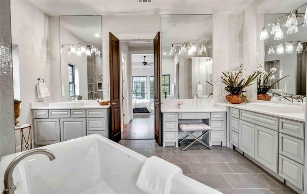 Options for Bathroom Built by Royal Texan Homes