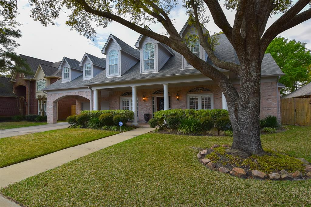 This Gorgeous 4538 sq ft home has a rare 5 bedroom & 4.5 bath located within gated neighborhood in heart of Cinco Ranch.  Built by Award Winning Custom Home Builder Jim Frankel.  Lightly lived in and heavily loved on. Huge bedrooms & closets, tons of built-Ins. Updated kitchen, new engineered wood floors and baseboards downstairs 2019, granite throughout, double pane windows, wood shutters throughout.  Roof and gutters replaced in 2017, AC's replaced in 12/17 and 4/09, 2 new water heaters in 2019, new carpet 2017, new paint inside 2017, covered back patio with light wood looking tile, new paint outside 2019, wood panel study and much more.  Over $225k in modifications and updates since owned.  Back yard has perfect layout, room for a pool and yard to spare!  Walk to YMCA, Life Time Fitness, Sprouts, fishing lakes, walking trails and Beach Club! Must see! NEVER FLOODED!