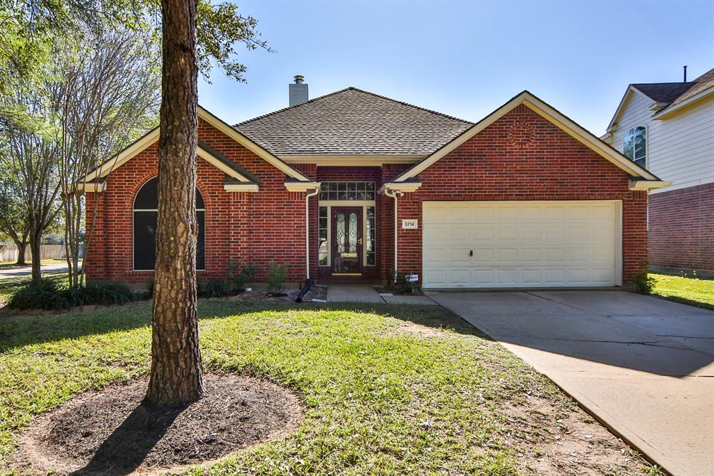 This gorgeous home in the master-planned community of Canyon Gate at the Brazos is exactly what you've been searching for. Nestled on a corner lot, this 4-bedroom, 2-bathroom property features high ceilings, a recently replaced roof and tile flooring, a brick fireplace in the living room, and a dining room. Dream up culinary masterpieces in the chef's kitchen, complete with granite countertops, a tile backsplash, breakfast bar, and gas range. Spend a quiet evening melting away stress in the spa-like master suite, equipped with a walk-in closet, dual vanities, a whirlpool tub, and separate shower. This community features a wealth of amenities, including a recreation center, pool, park, covered basketball court, and more! Popular shopping, dining, and entertainment at Sugar Land Town Square is located just 7 miles away! Students attend top-rated schools in Lamar CISD. This is the perfect home for you – call today!