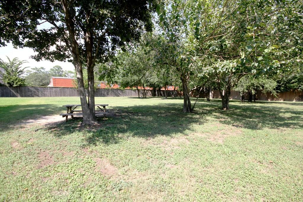 This community also features a fenced dog park.