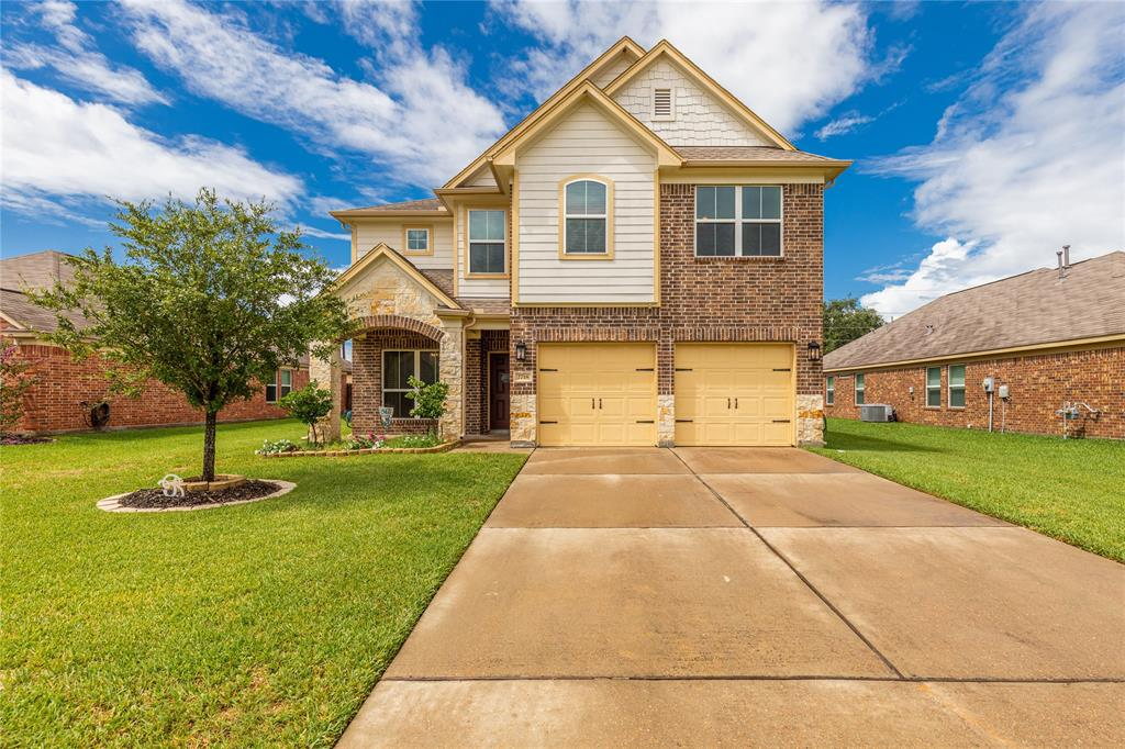 Welcome home to 2718 Briar Breeze Drive located in Briarwood Crossing and zoned to Lamar Consolidated ISD. This stunning 2 story home features 3 bedrooms, 2 full baths and 1 half bath. Entertaining your guests and family will be a breeze in the formal dining room. The kitchen showcases light stained wood cabinetry, tile backsplash, recessed lighting and bar seating. The family room features an open view into the kitchen and large windows providing a view of the backyard. Relax after a long day in the master suite or soak in the garden tub. Enjoy a night of family fun in the upstairs game room. Spend your nights and evenings on the covered back patio watching the kids play in the spacious backyard. You don't want to miss all this home has to offer! Check out the 3D tour and schedule your showing today!