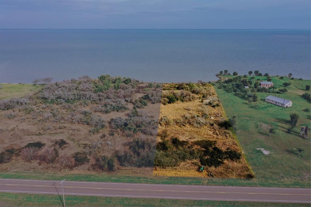 Tract E: ~2 AC home site with panoramic waterfront view of San Antonio Bay (a year-round trout and red fish mecca)! A public boat ramp/marina is accessible only 1/2 a mile from the property in one direction and Aransas Wildlife Refuge is just a few miles away in the other direction. The property boasts its own abundant wildlife, with whooping cranes and other birds, as well as visible game trails for deer. The property can be accessed with ease via a superhighway and is only 2.5 hours from Houston and San Antonio or 3 hours from Austin.