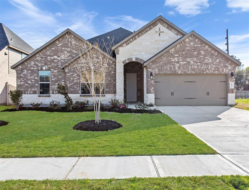"America's #1 Builder DR Horton for 17 years! This amazing New Construction 4 bed 3 bath home is the Terrell floor plan with Elevation K! Open floor plan, covered rear patio, 4 sides brick, full sod front and back, 8 foot doors throughout, tankless hot water heater, ""THE SMART HOME"" system complete with camera doorbell, Alexa home system and more.  Double oven in kitchen with granite countertops and stainless steel appliances. (All information provided by builder)  Located in Rosenberg, Summer Park is a convenient place for residents to call home. Being just minutes from Highway 59, freeway access is a breeze. This nearly 200-acre community has it all! Situated adjacent to Brazos Town Center, shopping and dining has never been easier. Summer Park boasts walking trails which meander by the community's lakes, a resort-style pool, children's playground, and splash pad perfect for those kiddos. FREE Washer, Dryer, Fridge, Blinds and Preferred Lender specials!!"