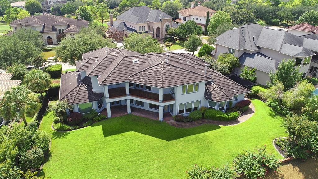 Beautiful Daybreak Custom home in Royal Oaks Country Club.  This elegant 6 bedroom home is located on a private gated street and overlooks the second hole of the prestigious Royal Oaks golf course. This one owner home has many features including a 4 car garage, tile roof, mother in law suite, gun safe, cedar closet, travertine floors, beautiful spacious gourmet kitchen, generous wet bar and paneled study. Custom sweeping staircase railing usher into the foyer, the large loggia off of the game room on the second floor has a wonderful view of the golf course and impressive backyard.  There is plenty of room for a pool and family fun.  Perfect home for relaxing or entertaining.  Resort views from almost every room!  This home is ready for your designer touches!