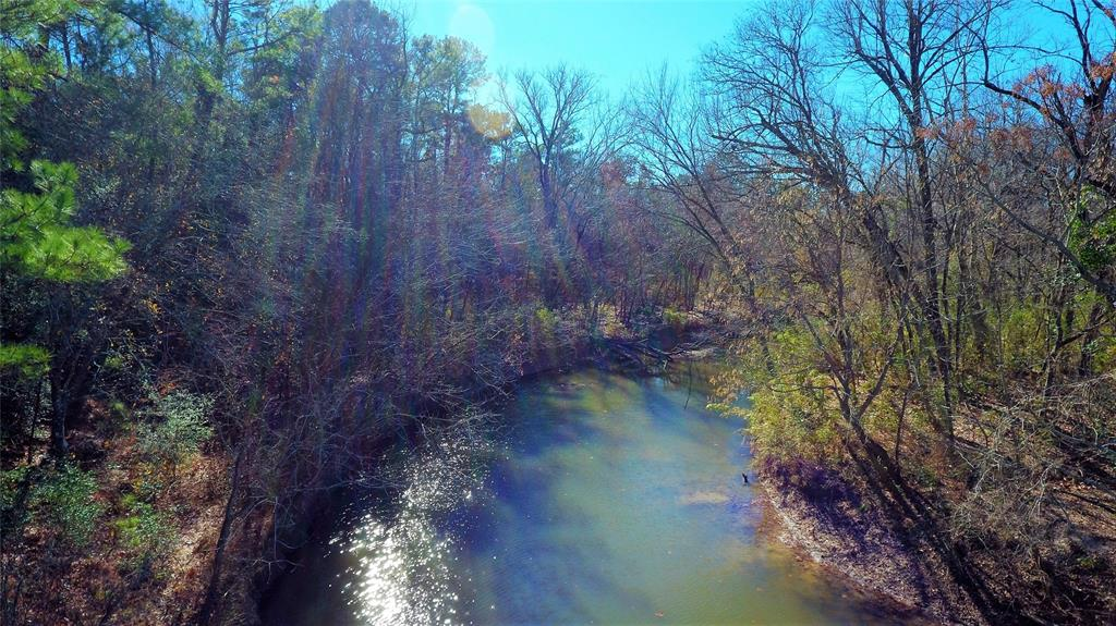 This property is in a wonderful location. Fully wooded, it features country living and full of wildlife. A wide stream runs along the back of the property. Your future home site is under an hour driving time to downtown Conroe and is only 30 minutes to Huntsville. Call today!