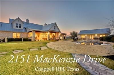 2151 Mackenzie Drive, Chappell Hill, TX 77426