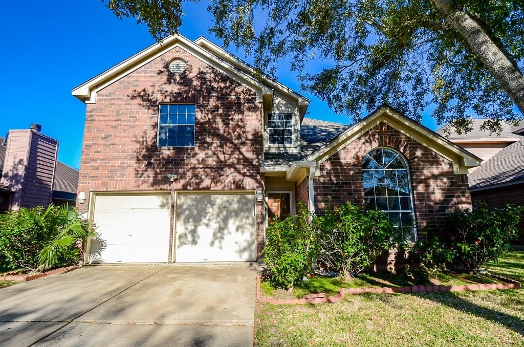 Come see this two story home in the sought after Hunter's Green Subdivision. This home offers NEW A/C (2019) and fresh interior paint. Spacious floor plan with high ceilings in the living area.Cozy up in the family room that features a nice fireplace. Master Bedroom is located downstairs with a walk-in closet and dual sinks in the master bath with a separate tub and shower. The kitchen offers granite counter tops with stainless steel appliances. Newly installed faucets throughout the home. Half bathroom located on the main floor for guest convenience. Secondary bedrooms are upstairs along with a game room that's great for entertaining! There's also a covered patio in the back yard. Roof is 2 years old. This home will not last long! It is priced to sell! Call today to schedule an appointment. The seller is motivated to sell. Seller has warranties/documents on all work done on home. The home has NEVER FLOODED! Buyer to purchase survey.