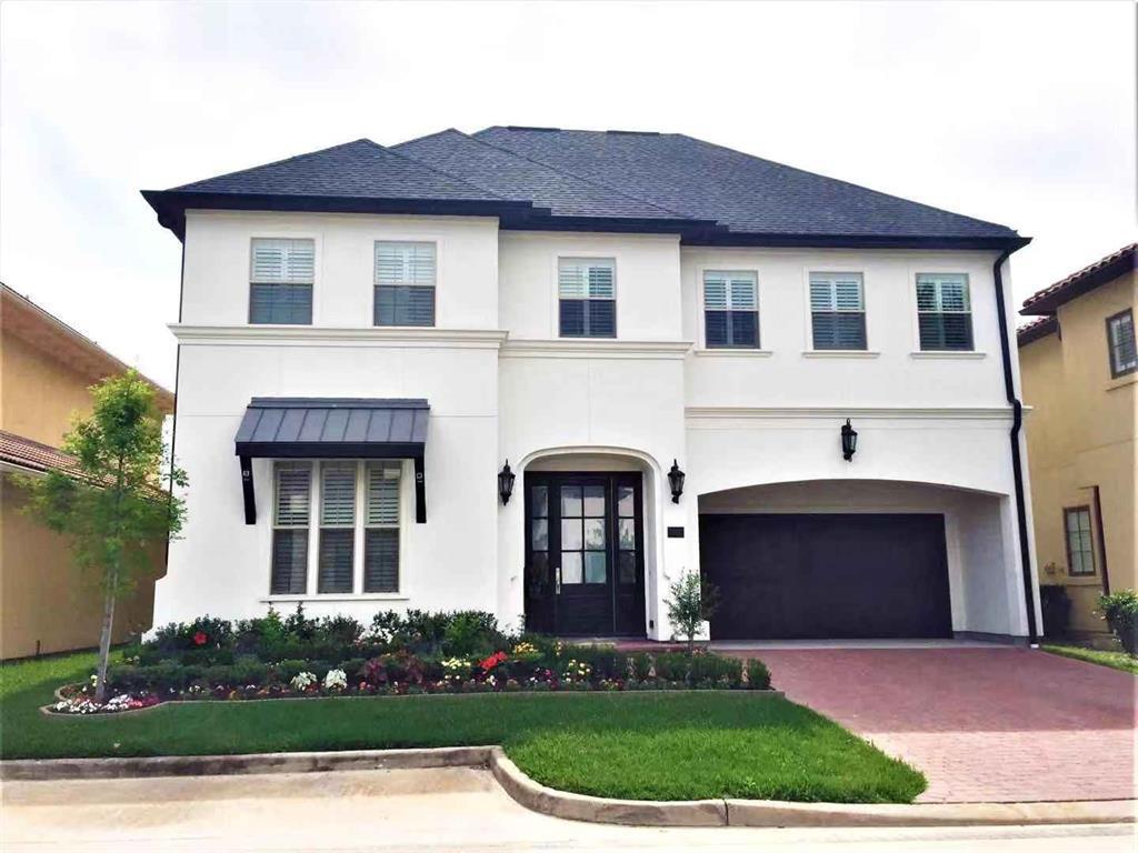 This spacious home is located in a gated community  with easy access to Highway 59 in Sugar Land. This spectacular  stucco, 2-story home features 4 bedrooms, 3 1/2 baths,media room,  game room, study, and an open living and kitchen area. Granite countertop, tile and wood floor the whole house, NO carpet. No flooding during Harvey. Move in ready . Must See !