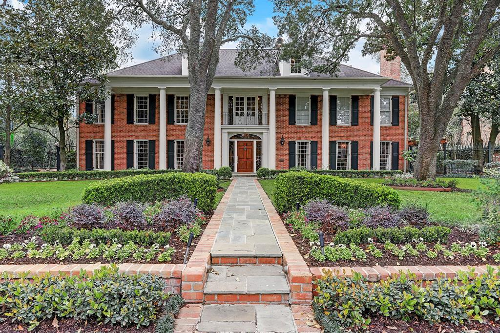 This renowned River Oaks classic built by C.C. Rouse sits on a sprawling lot in the heart of coveted River Oaks Country Club Estates. Original charm meets modern amenities in this 10,121 square foot home with 6/8 bedrooms, 9 baths and 2 half baths. Features include handsome formals, wood paneled study with full bath, eat-in kitchen with professionally equipped appliances, elevator servicing all three floors, gameroom, media room, and exercise room. Luxurious master suite with separate sitting room, two walk-in closets and dressing areas, and spa-like master bath. Outdoor amenities include a screened in porch, patio, sparkling pool, green lawn, and lushly landscaped side yard with several sitting areas. Conveniently located with easy access to the River Oaks Shopping Center, Downtown, the Medical Center, the Galleria Area, and all that Houston has to offer. A MUST SEE!