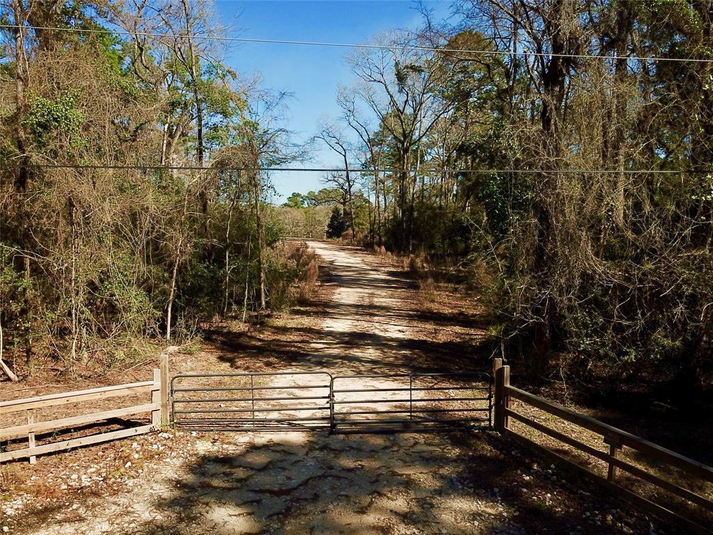 Welcome to the Country in the City-Hard to find unrestricted acreage in Montgomery!, rolling terrain, high and dry, excellent drainage for a home-site with a  pond.   This property is approximately a 1/2 mile from Hwy 105  and Lake Conroe. A great location for Commercial or Residential project.