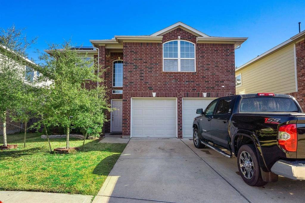 MUST SEE! Newly painted home. Home features 5 bedrooms (Master and bedrooms up) / 3.5 baths. Downstairs offers two (2) living areas. Great size backyard with a Patio for relaxation and entertainment. Stainless steel double sink.