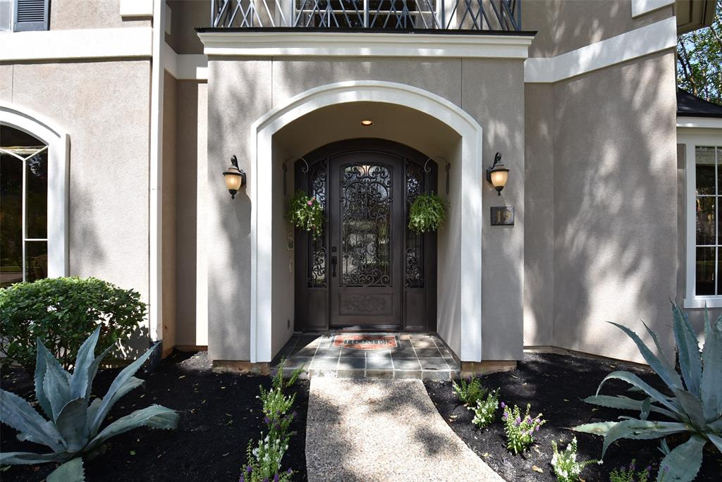 Create a memorable first impression when you welcome your family and guests through a custom iron front door into a dramatic two-story foyer with overlooking balconies and engineered hardwood flooring on first and second floors. The living areas overlook the pool in a beautifully landscaped and shaded backyard.  Let your family spread out in this stunning 5-bedroom (all with walk-in closets), 3-full, 2-half bathroom home. Formal dining and living room with cozy fireplace. Spacious office, game room and spectacular island kitchen with granite countertops. Storage galore throughout this home! Entrance from the 3-car garage has a convenient drop zone for phone charging, backpacks, or a place to study/work. Tons of natural light! New roof in 2019. Located in sought-after gated Pecan Park Estates, nestled next to 8.5-acre park. Exemplary FBISD schools, premier shopping, entertainment and easy access to major highways.  Schedule your tour today to appreciate all this home has to offer!