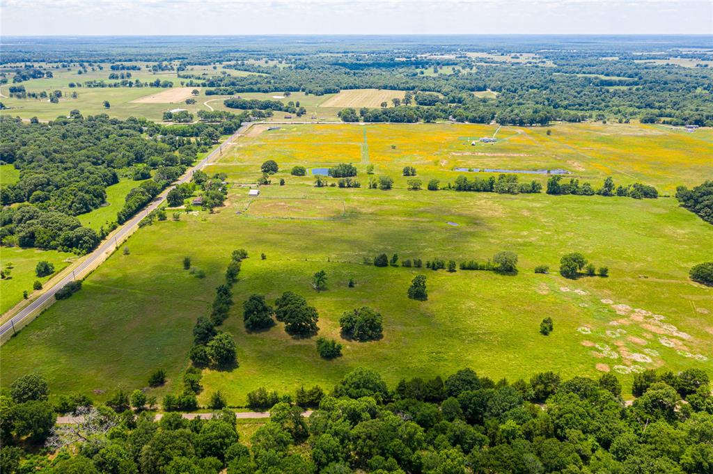 Gorgeous, 45 acre cattle ranch in Palestine, improved with barns, fencing, and a 1400 square foot farmhouse.  Outdoor features include a livestock barn built in 2014 at 1092 square feet.  The property is fenced, well-maintained, and ready for livestock.