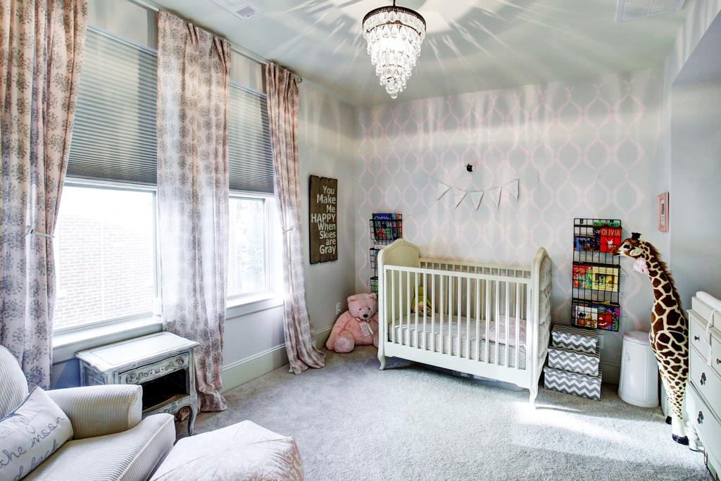Each bedroom comes with its own (spacious) closet and bathroom. This secondary bedroom is located on the third floor.