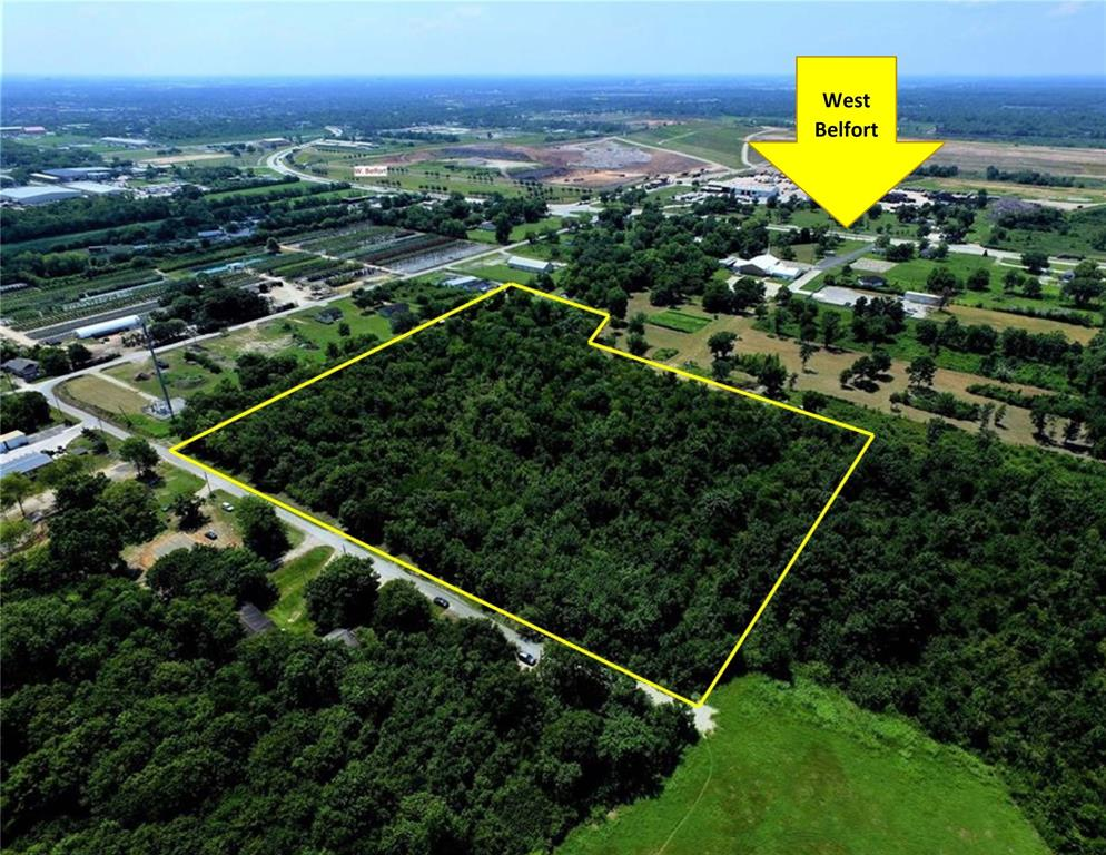 Almost 8 acres with plenty of road access on a dead end street. 2.75 miles from grand parkway and 0.25 miles from West Bellfort! Square shape and wooded. Property is really close to rapidly growing area.