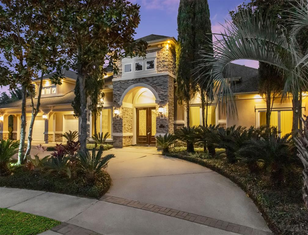 VIRTUAL Tours available on request. Call LISTING AGENT.Luxurious, Jaw dropping, custom built,Partners in Building home in the highly sought-after Telfair Neighborhood.Nestled in a quiet cul-de-sac and zoned to excellent Fort bend ISD schools, this home is not to be missed.Impressive double doors open into this flawlessly designed family home, flooded with natural light and soaring ceilings with TWO bedrooms downstairs PLUS a grand, master bedroom suit.Other highlights of this home include:a large gourmet kitchen with high-end stainless steel appliances (with 2 dishwashers!) tray ceilings and plantation blinds; majestic gas log fireplace and a wall of windows in the main living area; formal dining;TWO HUGE extra first floor living areas with built-ins- perfect for a home office/crafts or a child's playroom/study; a large second floor media and game room with a wet bar, walk in storage rooms; two more second floor bedrooms and a balcony overlooking the lushly landscaped backyard.