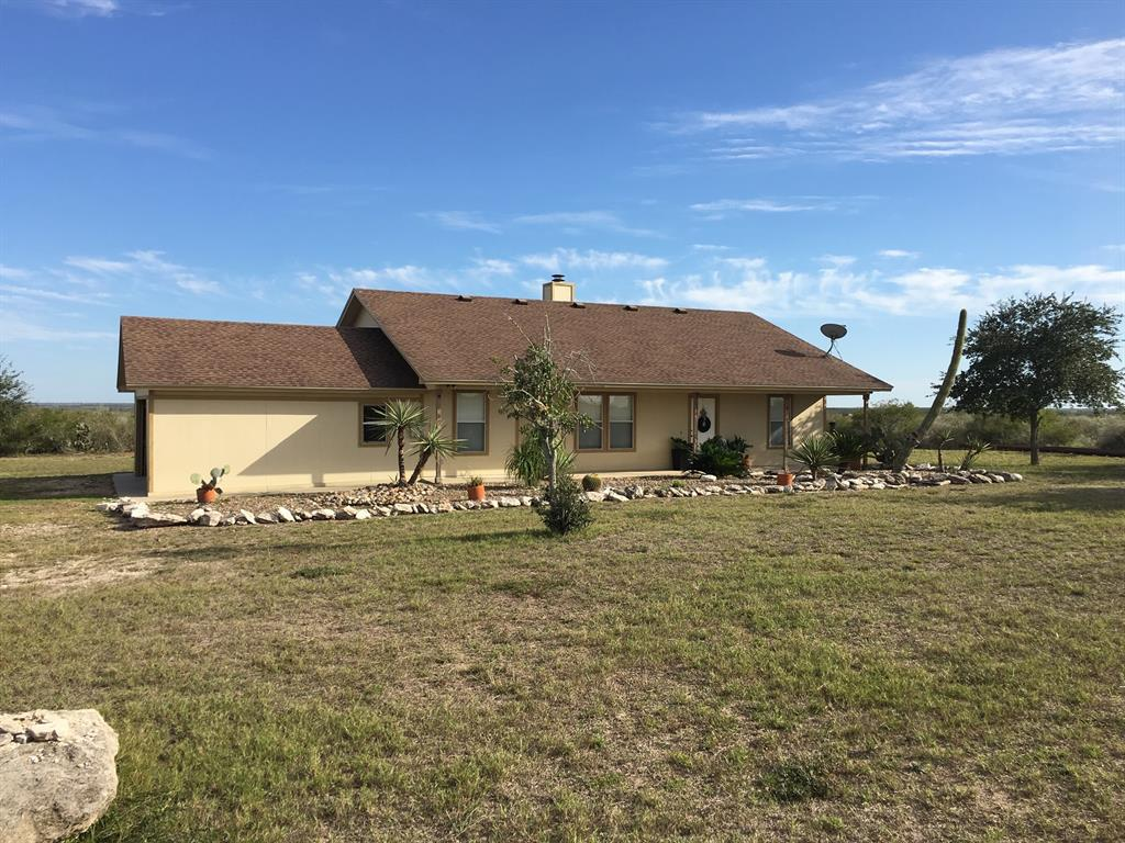 136 acres of South Texas serenity. Beautifully remodeled 3 bedroom home with new counter tops, new paint, new flooring, new ceiling fans, new fixtures, new roof on back patio. Pool to enjoy during the hot south Texas summers. Mostly brush but there is excellent grazing on the property. Ranch is plentiful with deer, turkey, hogs, and quail. 1 hour from Corpus Christi, 1.5 hours from San Antonio. Ideally located with easy access and enough road frontage to subdivide. With acceptable offer will sell with deer stand, feeders, and completely furnished (minus a few personal items).
