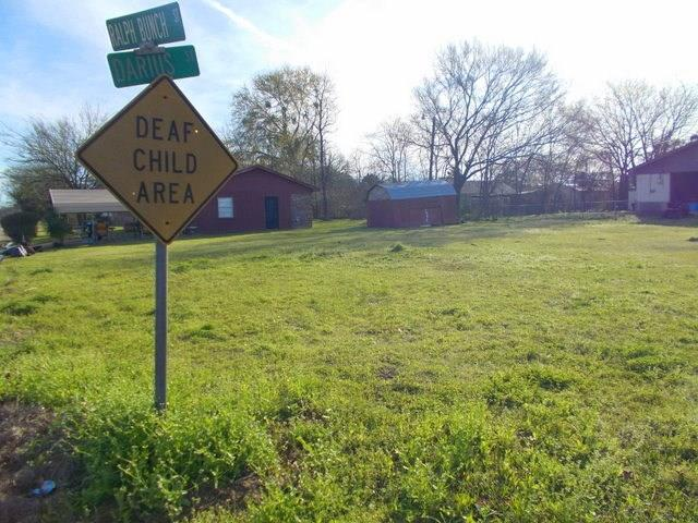 Nice corner lot located at 126 Ralph Bunch in Crockett. This lot is level and would make a great home site as it is located close to the Crockett I.S.D. Call us to see this property today!