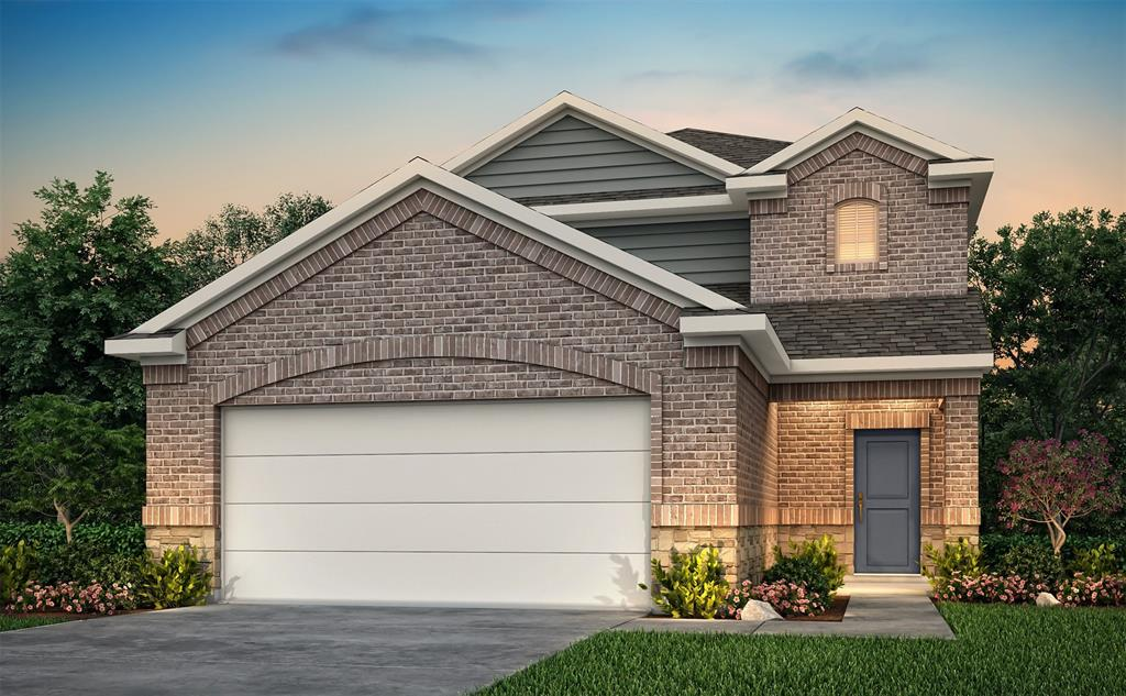 """NEW homes by Century Communities – Ready May 2020!Multi-Gen designed Walker floor plan 1691 sq. ft is a beautiful two-story home w/ an open concept that flows from the Family room through the Kitchen w/ ½ bath 1st floor!3 beds, 2.5 baths + 2 car garage w/ tons of storage.Master bedroom w/ HUGE closet & Master bath w/ 5 ft shower upstairs offers 2 huge beds & 1 full baths!Kitchen w/ 42"""" Slate cabinets + granite countertops & Whirlpool appliances!Rear covered patio!Energy efficient features include; Environments for Living Certified Home, 16 SEER Carrier HVAC, Low E3 vinyl windows, Radiant barrier roof decking, Rinnai tankless gas water heater, Insulated doors, Clare Home automation light switch & thermostat that provides lower utility bills.EZ access to Fort Bend Tollway, Beltway 8, Hwy 90, Hwy 6 & minutes from Sugar Land/Hwy 59 & Pearland/Hwy 288.Schools are zoned to Fort Bend ISD.Call today for a private showing!"""