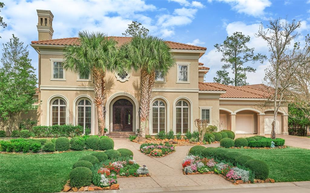 For an unbelievable unique lifestyle! This extraordinary custom home has been enhanced top to bottom with its timeless elegance and its classic yet relaxed details. Two-story entry with chandelier is flanked by the formal dining room and study with French doors. The gourmet island kitchen features Viking, U-Line, Thermador, and Bosh appliances and is open to the spacious family great room with its high ceiling, built-ins and has views to the covered patio, the water fountain, and beyond. The huge game room has a wet bar, mini-frig with an ice maker and direct balcony access across to the Media Room with its own microwave, refrigerator, and wet bar for convenient movie snacks. Relax your cares away in this simply gorgeous swimming pool and extended patio areas with its professionally landscaped grounds are great for al-fresco dining and entertaining family and friends.  Welcome home to the refinement and hospitality of 22 South Provence Circle.