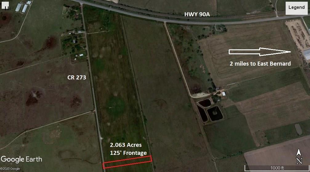 TBD Lot 3 CR 273, East Bernard, TX 77435