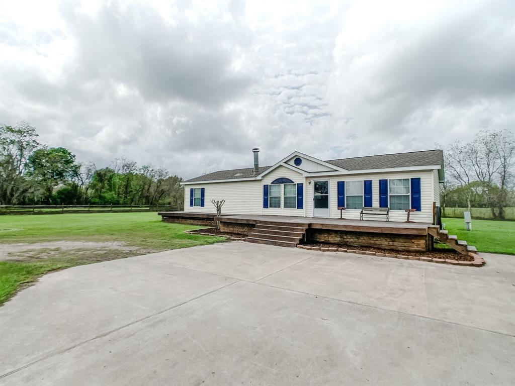 Home on 16 acres! Great country setting with cleared average in the backdrop for this 3 bedroom, 2 bath, mobile home. The open floor plan makes this home extra spacious. Extras include a detached garage, barn with electric and great wraparound deck with a pool for outdoor enjoyment. You must call me for an appointment on this one.?