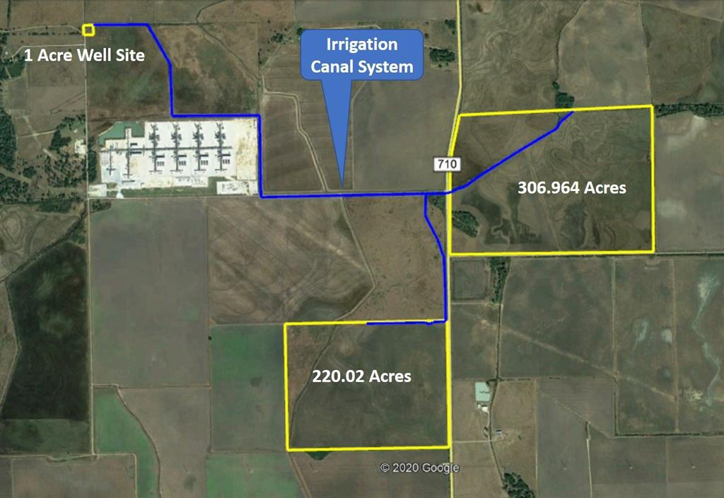 The property consists of three (3) non-contiguous tracts.