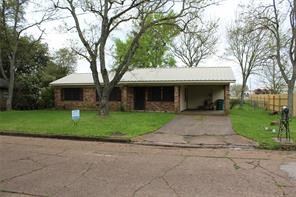 1410 Hooks, Crockett, TX, 75835
