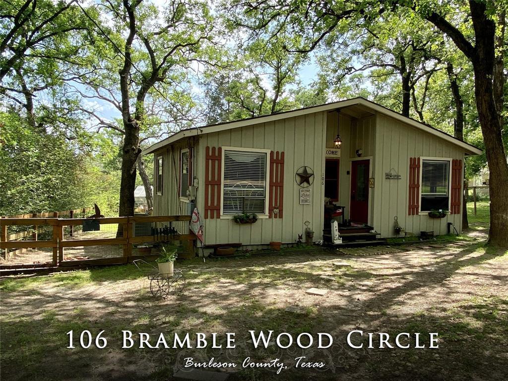 106 Bramble Wood Circle, Somerville, TX 77879