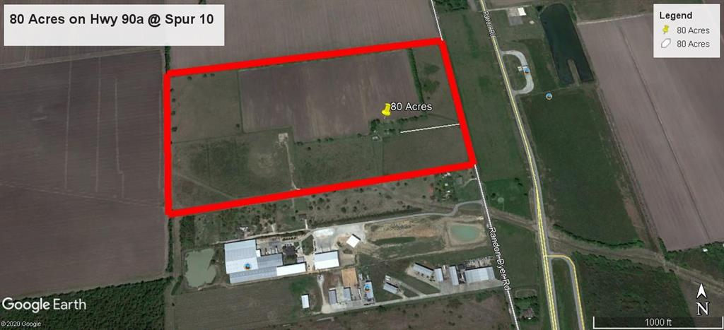 This Property is in the Hot west Fort Bend County Area. Located in the Spur 10 / Hwy 90 / Hwy 59 / I-69 / Hwy 36 area in Rosenberg. This perfect for industrial user or developer looking for acreage in this area. This property has about 1,300 feet of frontage on Randon Dyer Rd.  Randon Dyer runs parallel to Spur 10 about 400 feet to the west.  It is about 2,300 feet from the intersection of Spur 10 and Hwy 90.  Quick access to Hwy 36 and Hwy 59.  This property's access is better that being directly on Spur 10 because of it location to the turn around and the ability to head north or south on Spur 10 from the subject property as well as to head east or west on Hwy 90, This is great for big trucks. The major TXDOT expansion project is currently underway from the Port of Freeport.  This area is the next major hub for trucking / warehouse / industrial users.  Fort Bend County leads the Houston region, as well as much of the state and nation, in demographic excellence.