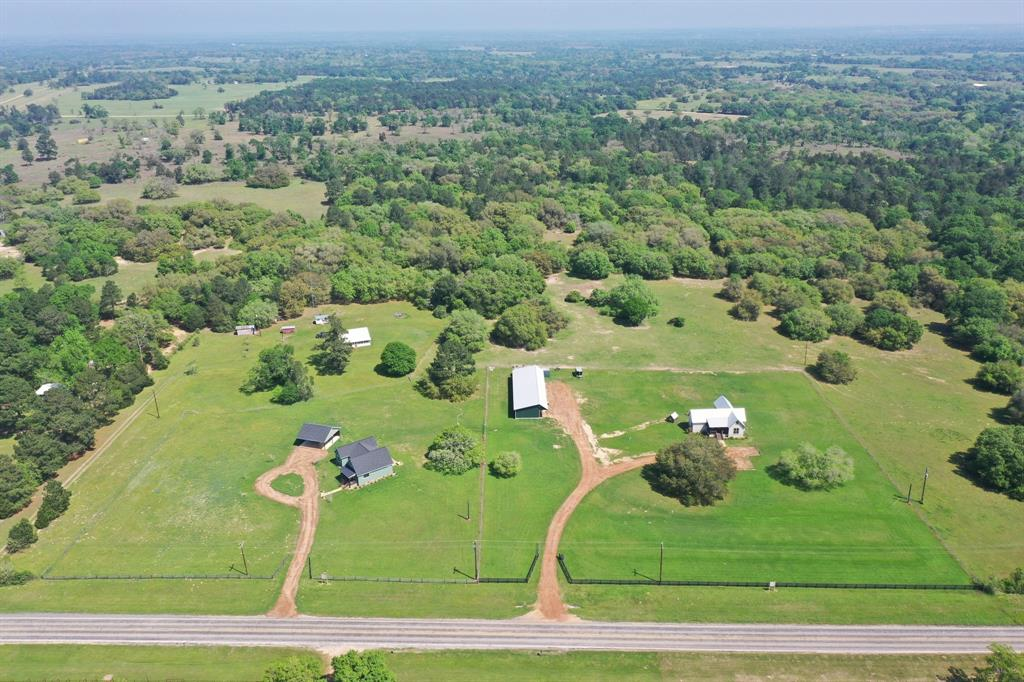 TWO Wonderful recent construction homes in a country setting in the sought after community of Cat Spring on 5.28 acres! TWO absolutely charming recent construction, One hm is 1,304 sf and sits on 3.12 acres, blt in 2019, fenced/metal roof/with a 6 bay workshop (3 open bays/3 enclosed bays) separate office.  SECOND hm is 1,561 sf, 3bdrms/2.5 Baths/Recent construction and sits on 2.16 acres and a 3 car carport with work room.  Acreage totals 5.28 acres of land for both homes. Both homes have hardwd flooring, granite counters throughout, Floor plans are light and open w/high beamed ceilings/great kitchen appliances/granite counters/beautiful custom cabinetry! Each home has a different floorplan, but excellent quality.  Homes are separately and completely fence but with a neighbor gate.  These two properties can be sold separately or together.  Please see HAR MLS 89260538 $389,00 (Vacant) and HAR MLS: 58160227  $485,000.  (Easy to show!)