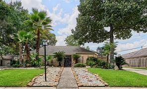 This Beautiful one story House did not flood During Harvey...Over sized Lot house in Briargrove Park has many upgrades including a new roof, new appliances, 3 pain windows and tile flooding...Huge back yard great for a pool or expand on entertaining.  The actual building size is close to 4000sf according to the seller.