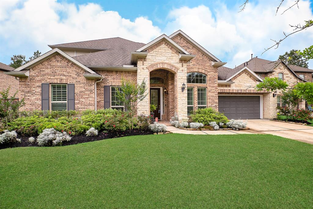 Great LOCATION! Walking distance to Exxon, HP, ABS, St. Lukes, City Place Plaza, Parks, Hiking/Biking trails boarded by 150 acres Nature Preserve. Minutes to I-45, 99, Hardy Toll Rd, The Woodlands, IAH airport & Downtown. This stunning home offers 4BR, 3.5BA, Pool/Spa for a life of relaxation & entertaining. Upon entry you'll find upgraded engineered wood flooring, Plantation shutters, a Formal dining, Study w/french doors. The living is accented w/a Stone Fireplace & a wall of windows-great views of patio/POOL! The Island Kitchen has abundance of upgraded counters, Granite, Upgraded appliances, Breakfast bar & adjoining Breakfast area. The Master en-suite has an extended sitting area allowing a great view of Pool/yard. All other Bdrms are downstairs, with BR3/BR4 having adjoining Hollywood Bath & BR3 w/extensive walk-in closet. Upstairs are the oversized game room, half bath & unfinished Flex room.  The oversized covered patio, Pool/Spa & beautiful landscaped yard completes this home!