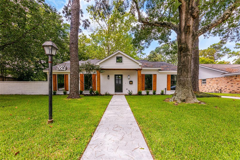 This beautifully renovated 4 bedroom/3 full bath, open floor plan home in the heart of Spring Valley is within walking distance to Valley Oaks Elementary. Zoned to Spring Branch Middle School and Memorial High the 12,450 sft corner lot home is located on a street with a cul-de- sac (no thru traffic). Completely renovated from the studs with new hardwood floors. New electrical, new plumbing, new HVAC, new insulation, new Sheetrock, new roof, new driveway with private gate, 2 Car oversize garage and a gorgeous cedar back porch. Gourmet Kitchen with the best in high end appliances (WOLF double oven, dual fuel Range, SUBZERO refrigerator and ice machine.) Beautiful vintage copper counter top in wet bar and Quartz countertops throughout the entire home. Energy saving LED lights thru out as well as nest smart thermostat.  Gorgeous master bathroom with a lot of natural light, foot claw tub, and kohler bathrooms fixtures throughout. Pre wired for speaker system and a spacious laundry room.